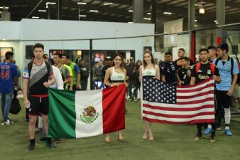 Liga de fútbol 5 de mayo celebró sus juegos de campeonato