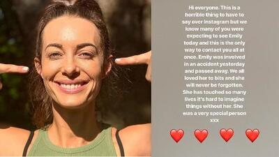 Accidente con 'scooter' provoca la muerte de la youtuber Emily Hartridge