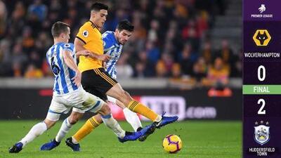 Jiménez y el Wolverhampton no reencuentran el triunfo; caen ante el Huddersfield
