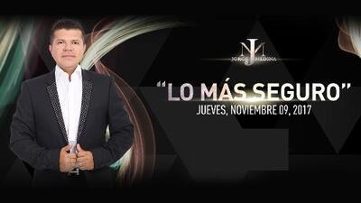 Jorge Medina le apuesta a 'Lo más seguro'