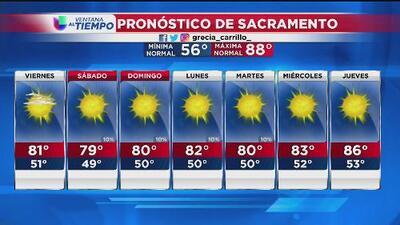 Sacramento tendrá un fin de semana patrio con ambiente templado