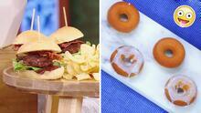 El menú perfecto para ver los Latin GRAMMY: minihamburguesas y donas de almendra del chef Oropeza