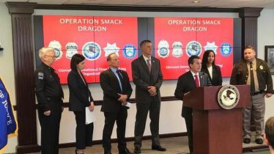 'El Mencho' pierde célula de distribuidores de heroína en EEUU por operativo 'Smack Dragon'