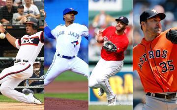 Estos son los jugadores y pitchers suplentes de la Liga Americana para el All Star Game