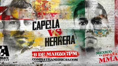 Combate Américas anuncia épica serie de MMA entre México y España