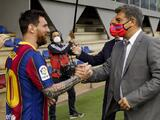 Barcelona y Laporta inician negociaciones para renovar a Messi