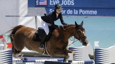 La hija de Steve Jobs participa en los Juegos Panamericanos
