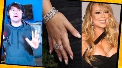 Mariah Carey vendió su anillo de 13 millones de dólares que le obsequió su exprometido