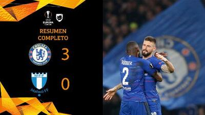 Chelsea 3-0 Malmö - GOLES Y RESUMEN – VUELTA DIECISEISAVOS DE FINAL – UEFA Europa League