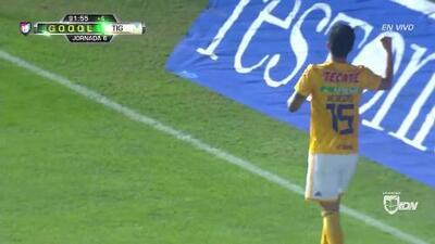 ¡GOOOL! Francisco Venegas anota para Tigres