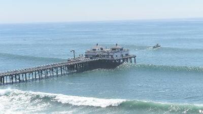 Emiten alerta por alto oleaje en varias playas del sur de California
