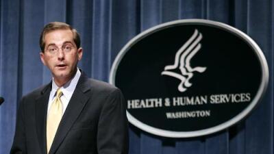 Trump nombra a exejecutivo farmacéutico como nuevo secretario de Salud tras el escándalo de Price