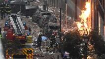 Una explosión destruye un edificio de Madrid dejando varios muertos y heridos