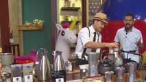 """Este hombre lleva café a cualquier rincón de Puerto Rico con su propuesta """"Café sobre grecas"""""""