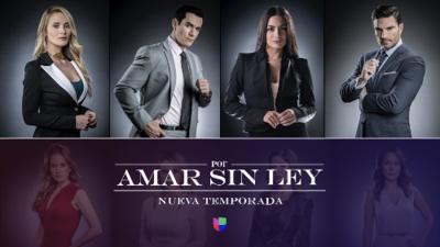 Por Amar Sin Ley- LUN- VIE 10PM/9C