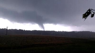 Registran tornado en Carolina del Norte, últimos restos del huracán Nate tras su debilitamiento