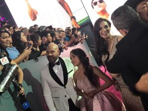 Rubí Ibarra acompañó a El Bueno, La Mala y El Feo en Premio Lo Nuestro 2017