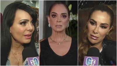 Tras declaraciones de Lupita Jones, Maribel Guardia y Ninel Conde opinan sobre las mujeres transgénero