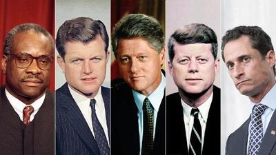 De Kennedy a Clinton: casos emblemáticos de acoso sexual que han sacudido a Washington