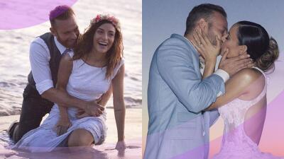 Con melosos mensajes, Marimar Vega y Luis Ernesto Franco celebran segundo año de matrimonio
