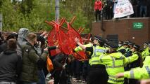 Protestas y disturbios suspenden Manchester United vs. Liverpool