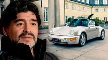 Diego Maradona: a subasta un carro ultra raro que perteneció a la leyenda del fútbol