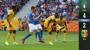 Italia supera a Mali y enfrentará a Ucrania en las Semifinales del Mundial Sub-20 Polonia 2019