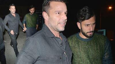 Ricky Martin y Jwan Yosef disfrutan un paseo romántico