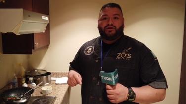 Chilaquiles y pancakes entre las comidas favoritas de Andy Ruiz