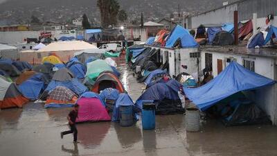 Más de la mitad de los migrantes de la caravana en Tijuana padecen de enfermedades respiratorias