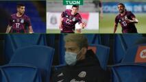 Sin gol y sin Raúl Jiménez, México y Martino sufren mucho
