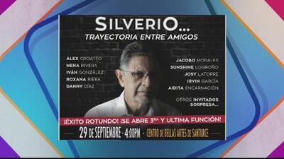 Silverio Pérez regresa con un concierto para cantar entre amigos