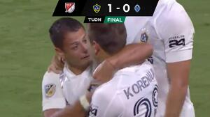 ¡Por fin! LA Galaxy ganó con Chicharito en la cancha