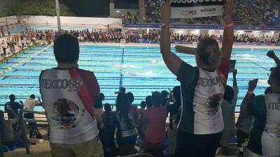 Natación suma un oro, cinco platas y dos bronces a la cuenta mexicana en JCC