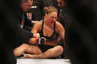 Humillante: a Ronda Rousey le restriegan uno de los momentos más difíciles de su vida