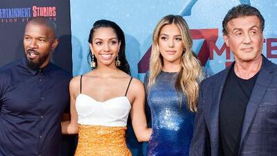 A las hijas de Sylvester Stallone y Jamie Foxx las persiguió un tiburón en la cinta  '47 meters down: Uncaged'