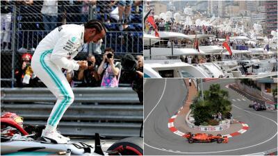 Las mejores fotos: Hamilton se quedó con la Pole en Mónaco en una jornada emocionante