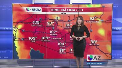 Las altas temperaturas se hacen sentir durante este fin de semana largo en Arizona
