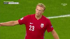 Erling Haaland comienza a escribir historia con la selección mayor de Noruega