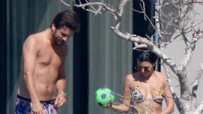 Kourtney Kardashian y Scott Disick se escapan a Los Cabos, México