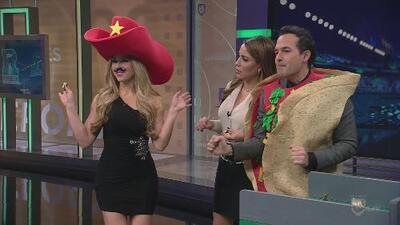 Claudia Molina jugó a El Sapo de República Deportiva de la Noche