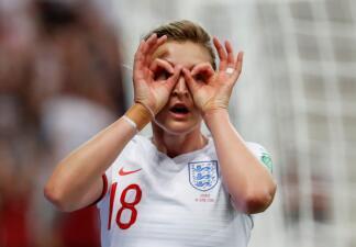 En fotos: Inglaterra se impuso a Japón y quedó de líder del Grupo D en el Mundial Femenino