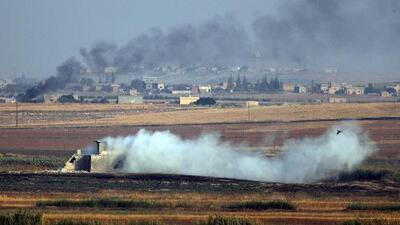 Turquía lanza una fuerte ofensiva por aire y tierra contra los kurdos en Siria