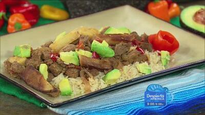 Aprende a guisar un bistec a la mexicana