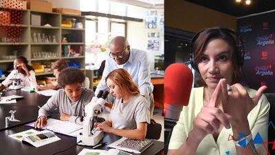 Omar y Argelia están buscando una escuela para su hija mayor y comparten consejos para escoger la más adecuada para tus hijos
