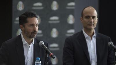 El futuro de Osorio en el Tri se mantiene en vilo y la 'nueva' estructura de la Femexfut fue presentada