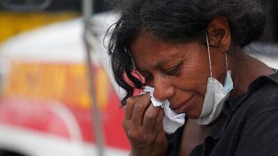 Dolor, consternación e impotencia entre los sobrevivientes de la erupción del volcán de Fuego