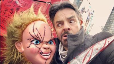 Eugenio Derbez compara a Alessandra Rosaldo con Chucky