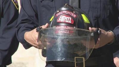 La ciudad del Álamo recuerda al bombero caído, Greg Garza