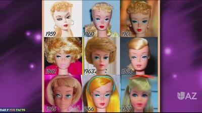 Hoy es día de: la muñeca barbie